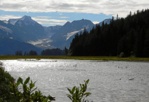 Alaska Berge und See