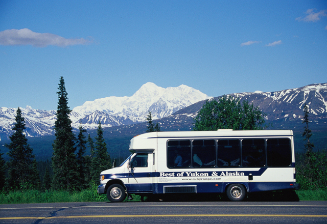 Reisebus Best of Yukon und Alaska