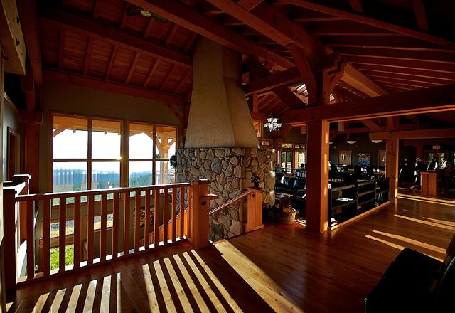 Holzboden Kanada modern