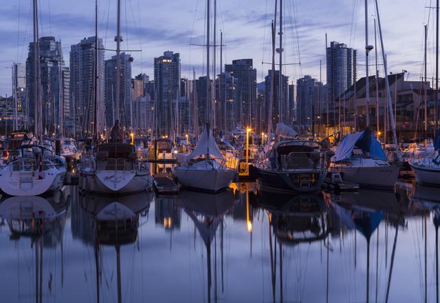 Vancouver mit einem tesla erkunden