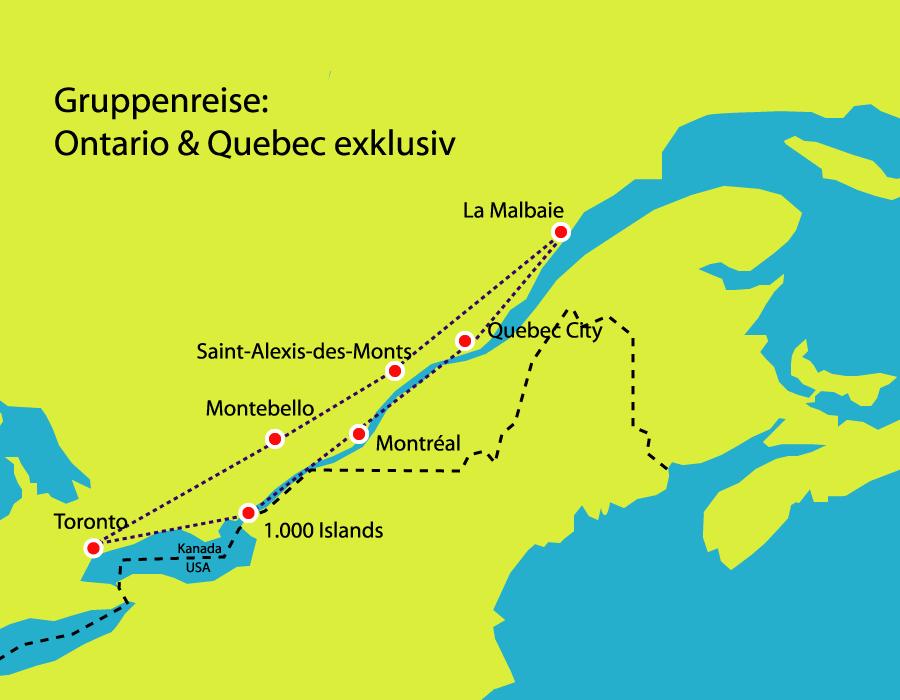 deutschsprachite Ostkanada Reise