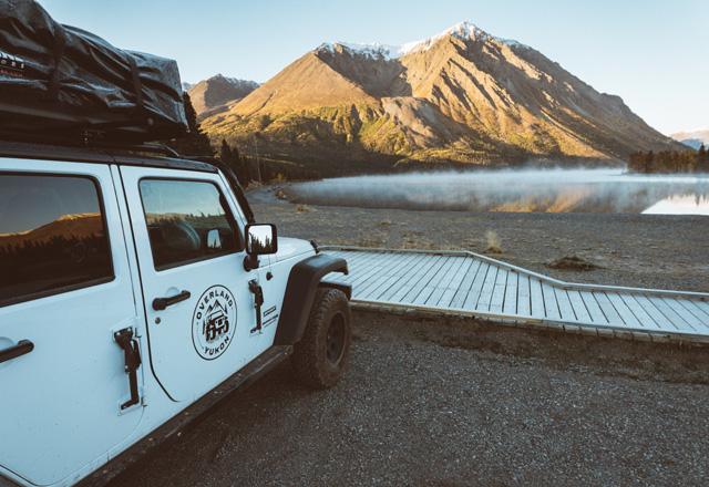Campen leicht gemacht im hohen Norden