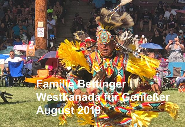 Westkanada Urlaub Familie Bettinger