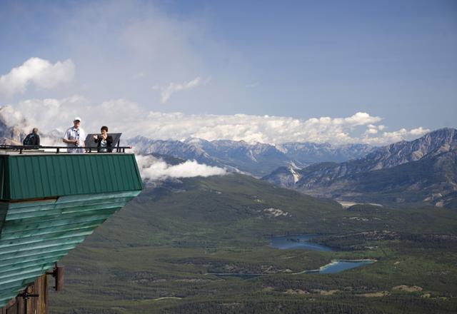 Ausblick in Jasper