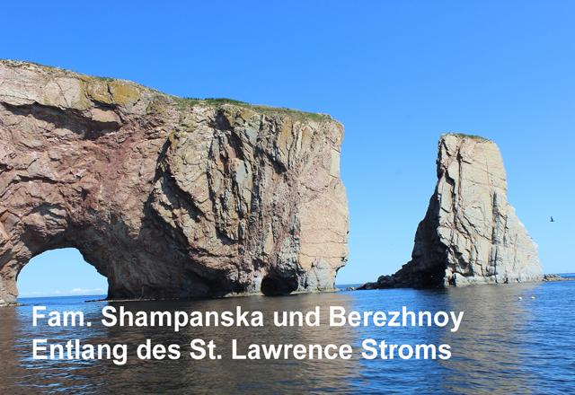 Entlang des St. Lawrence Stroms
