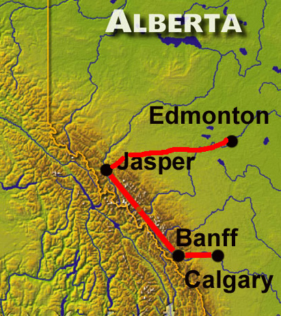 Winterreise Alberta