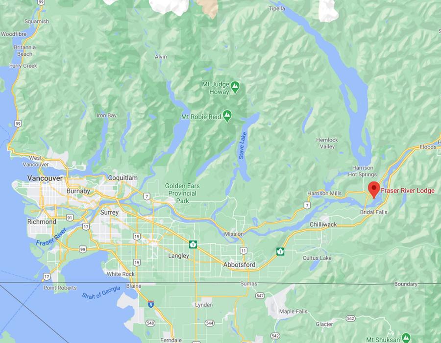 Fraser River Kanada Vancouver