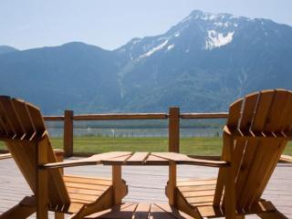 Ausblick von der Fraser River Lodge