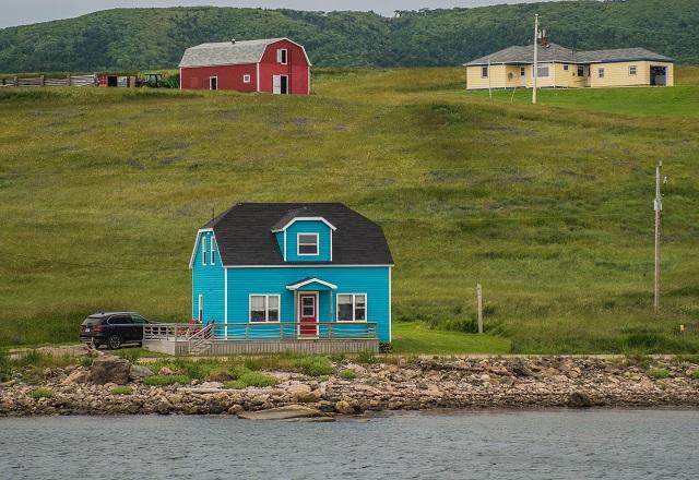 Hütte am Wasser Kanada