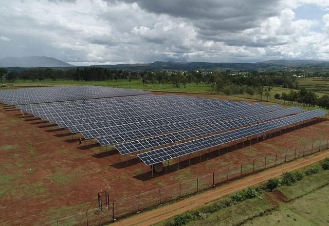 Solaranlage atmosfair