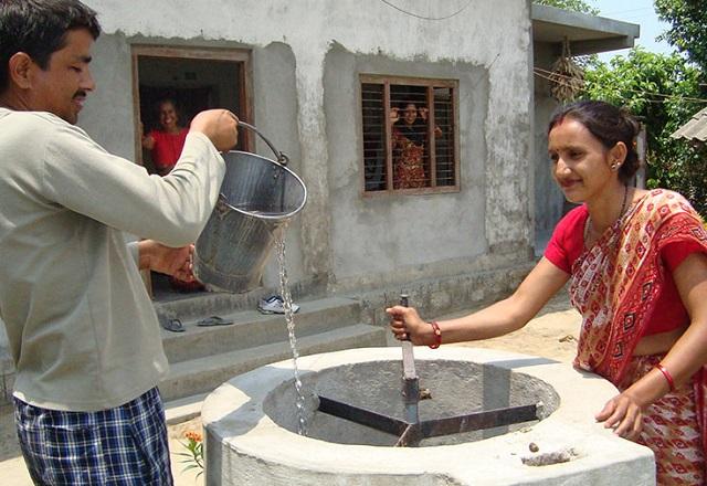 Brunnen atmosfair
