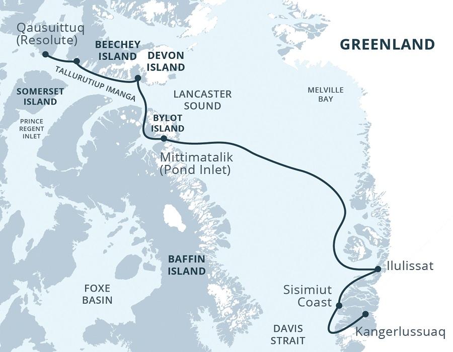 Kreuzfahrt Kanada Grönland