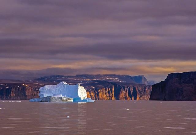Gletscher Arctic Canada