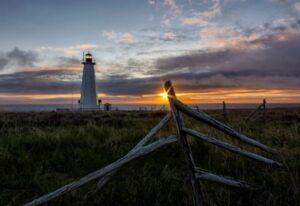 Leuchtturm in Neufundland Kanada