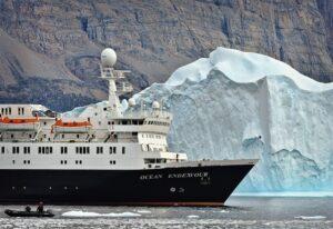 Kreuzfahrtschiff Gletscher