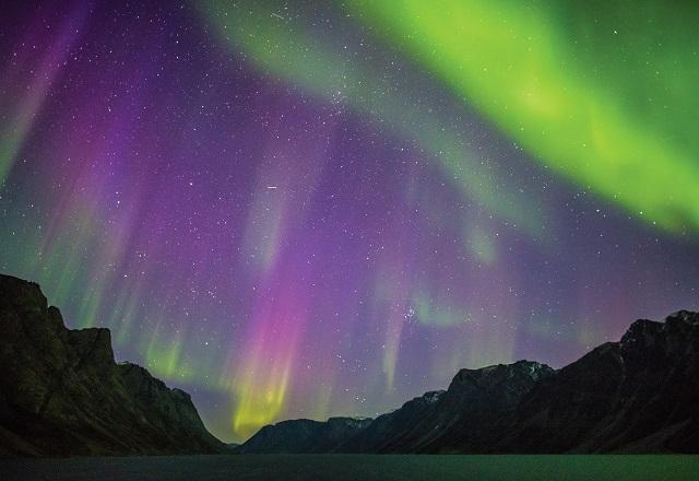 Aurora Grönland