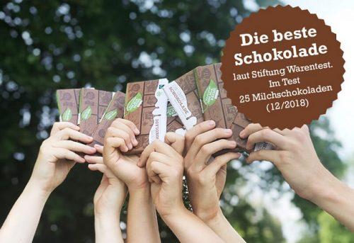 Change Chocolate Stiftung Warentest
